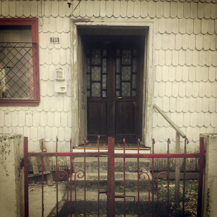 Doors of Ancud, Chiloe
