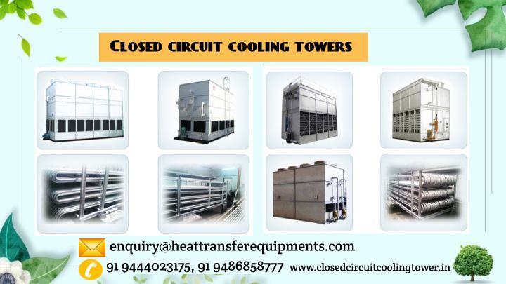 Closed Loop Cooling Tower With Images Cooling Tower Water