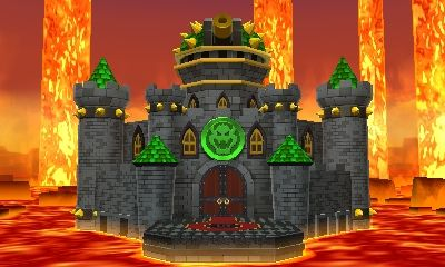 Bowser's Castle (Mario and Luigi Paper Jam) by Banjo2015
