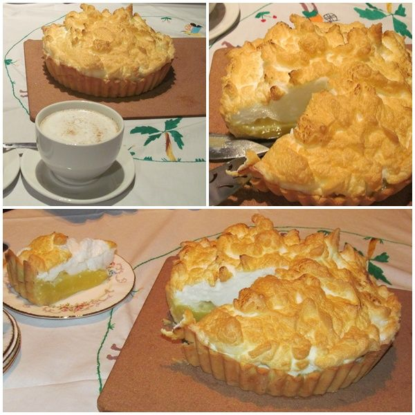Lemon Meringue with a twist