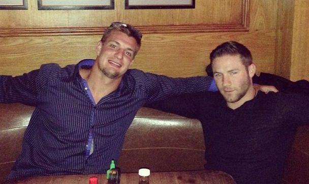 Gronk and Edelman #Patriots ❤