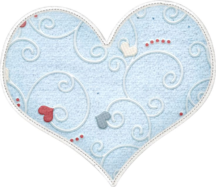 Heartblueswirpng Scrapbooking Clip Art Pictures And