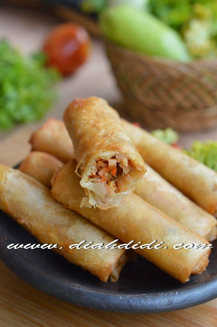 Diah Didi's Kitchen: Lumpia Rebung Mini
