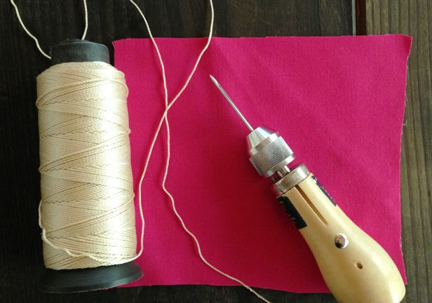 Learn How (and Why) to Use a Stitching Awl >> http://blog.diynetwork.com/maderemade/how-to/sewing-solution-use-an-awl-for-thick-fabrics?soc=pinterest