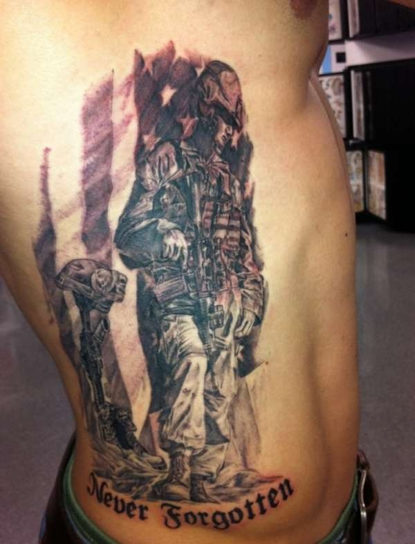 17 best images about fallen tattoo on pinterest soldiers cross tattoos and military tattoos. Black Bedroom Furniture Sets. Home Design Ideas