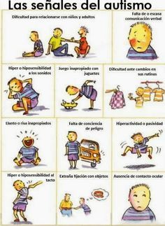 Señales del #Autismo para ponernos en alerta
