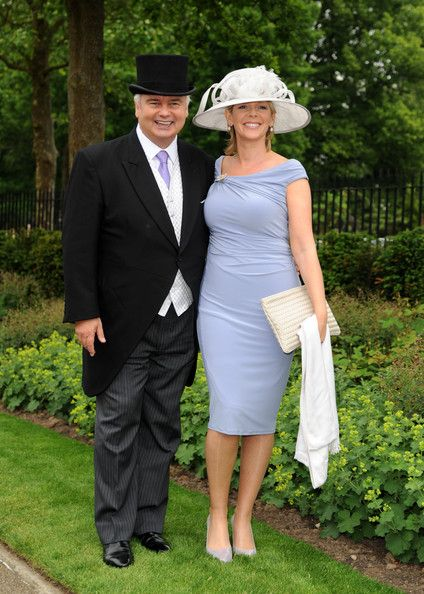 Eamonn Holmes and Ruth Langsford attend Day 1 of Royal Ascot at Ascot Racecourse on June 18, 2013 in Ascot, England.