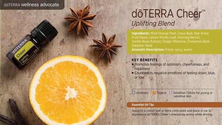Cheer Essential Oil  doTERRA  http://mydoterra.com/brandichristian