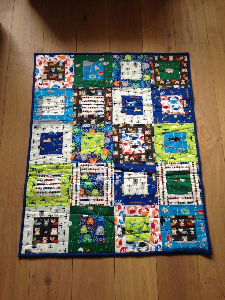 Baby quilt Pattern Elizabeth Hartmann Fabric Cloud9