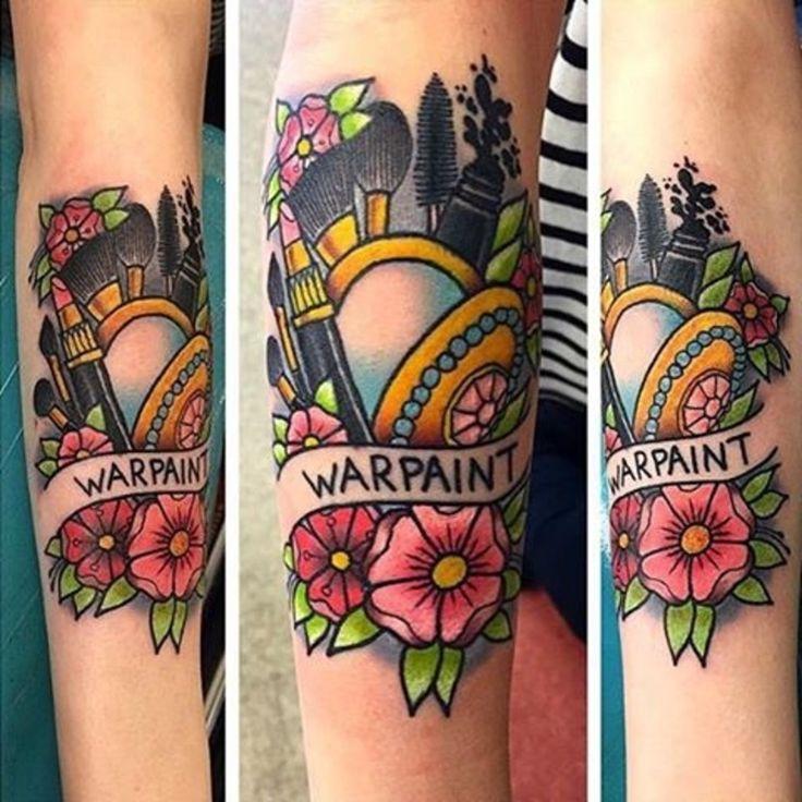 19 #Stylish Tattoos #Makeup Lovers Will Love  ...