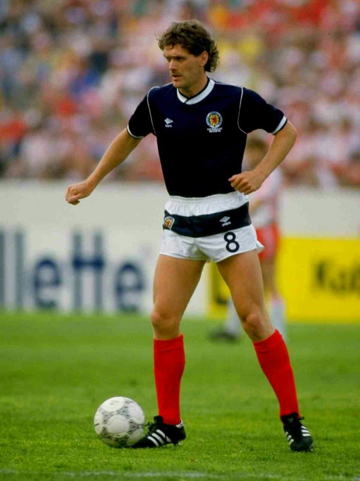 Roy Aitken of Scotland at the 1986 World Cup Finals.