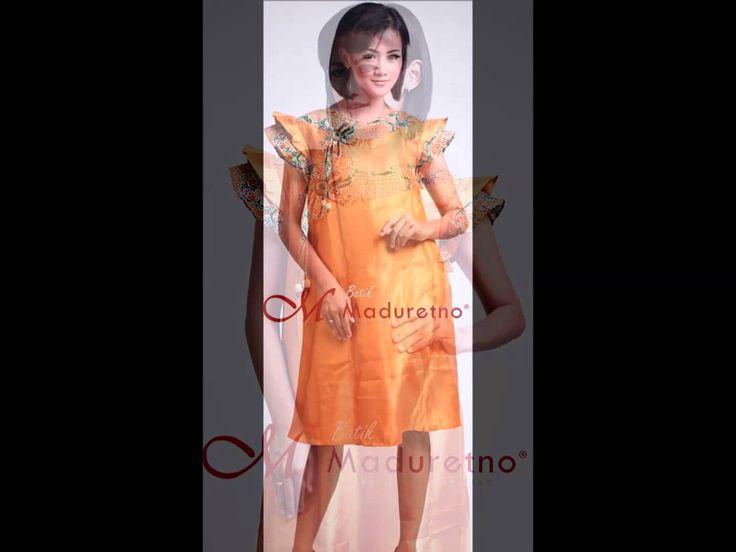 Dress Batik Tulis Madura Modern, Batik Maduretno