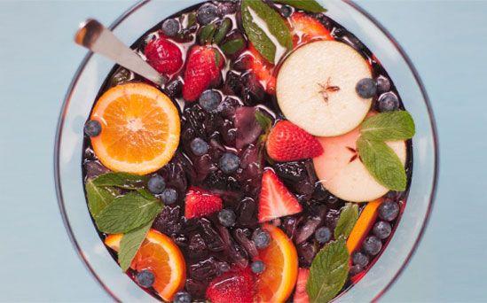 Easy Red Madria Sangria Tradicional Recipe