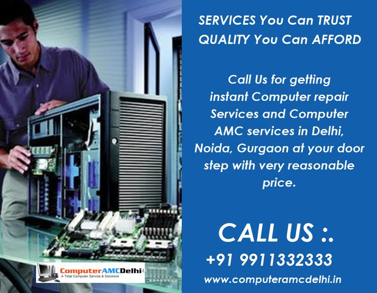 Call computeramcdelhi.in/ for getting instant Computer repair services and Computer AMC services in Delhi, Noida, Gurgaon at your door step with very reasonable price. know more details visit ; http://www.computeramcdelhi.in/