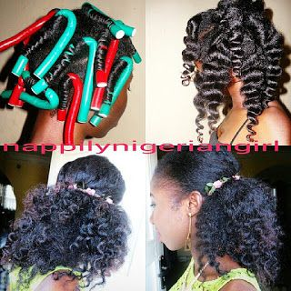 NATURAL HAIR STYLE GALLERY ON NIGERIAN HAIR