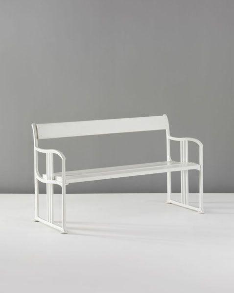 Steel #bench By Josef Hoffmann · Joseph HoffmanFurniture ...
