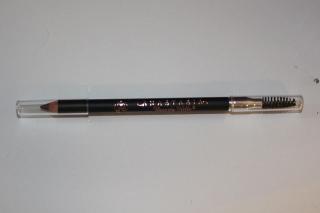 Anastasia Eyebrow Pencil. Brunette is my shade. It's the best I've ever used. It makes a very fine line to mimic hairs.