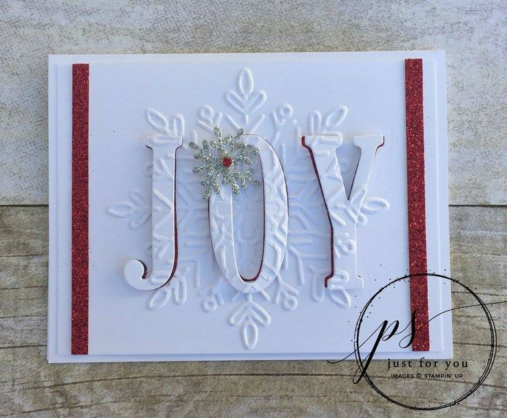 Supplies : Card Stock – Thick Whisper White (140272) Misc . – Red Glimmer Paper (121790); Silver Glimmer Paper (135314); Larg...