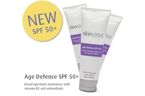 Skinstitut Age Defence SPF50+ Check out our review by UltimateTravel Magazine. #Skintip #SPF50+