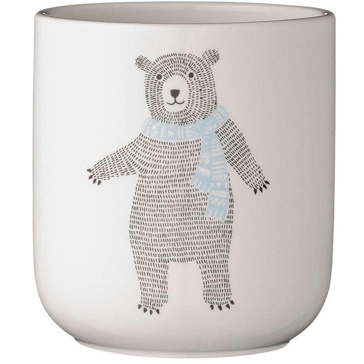 bloomingville potteskjuler bjørn