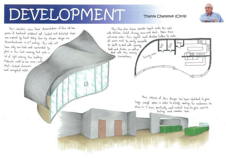 Kitchen's Exterior and Interior Rendering (Development)