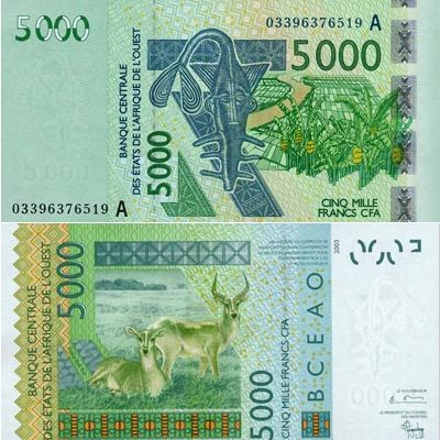 Billet 1000 dinars algerien