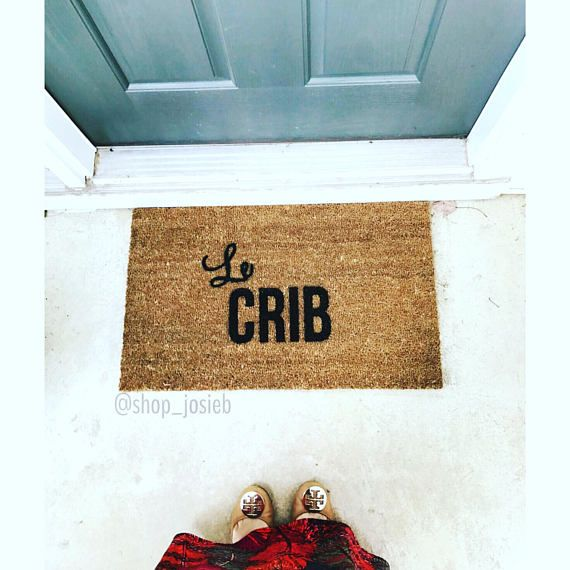 Le Crib Doormat Doormats Rugs 18x30 outdoor mat Custom
