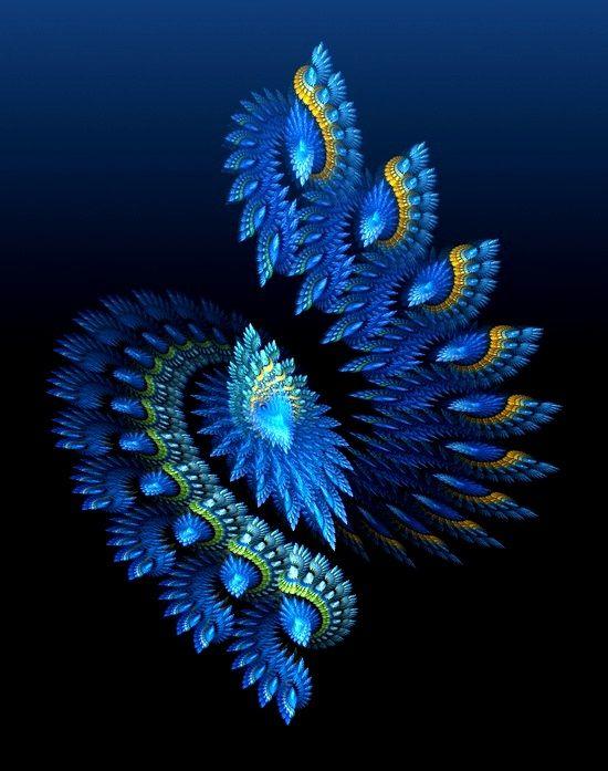 ❤~ Fractales  Azules~❤