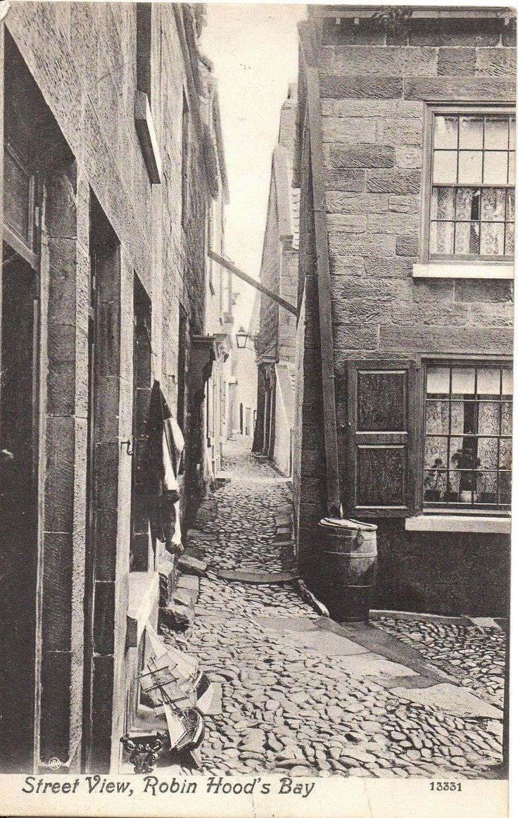 "Robin Hood's Bay (early 1900s) ... ""Aye, shu'nt be too bad, y'know ... makes a change fr'm Bill's mother's ..."""