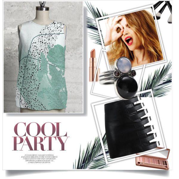 GREEN light for PARTY by ioanaturcanu on Polyvore featuring Bottega Veneta, Celestine, Urban Decay and Estée Lauder