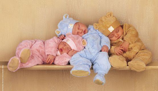 Uyuyan komik bebekler, tatlı bebek fotoları, toplu şirin bebekler