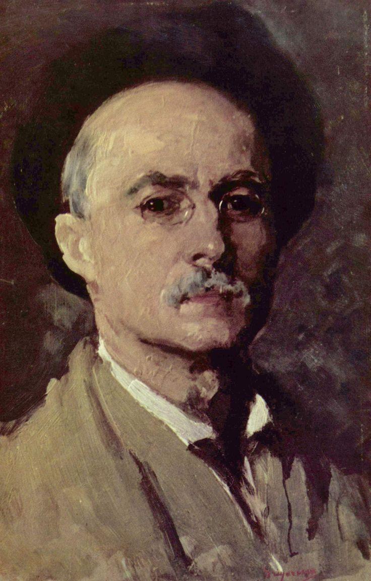 Nicolae Grigorescu ~ Self Portrait (Romanian: 1838-1907)