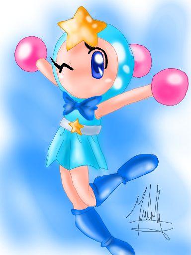 Acrobat Aqua cute by SailorBomber