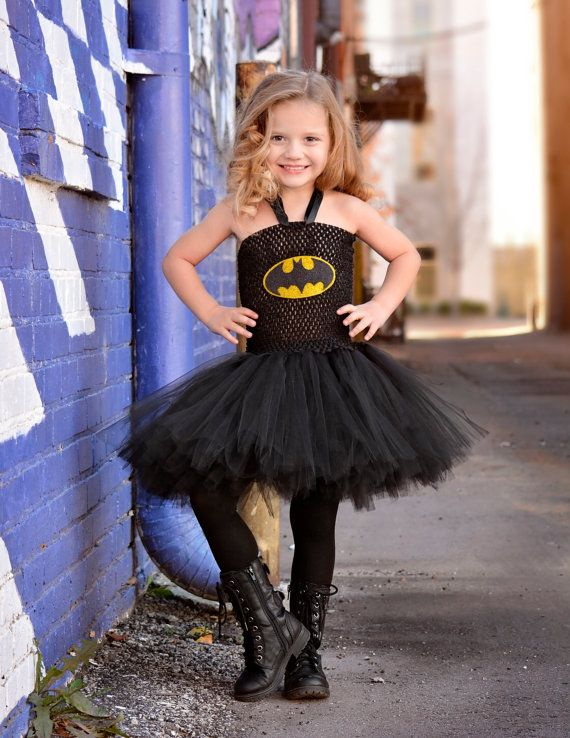Batman tutu dress costume. Hey, I found this really awesome Etsy listing at https://www.etsy.com/listing/486612508/batman-costume-batman-tutu-dress-comic
