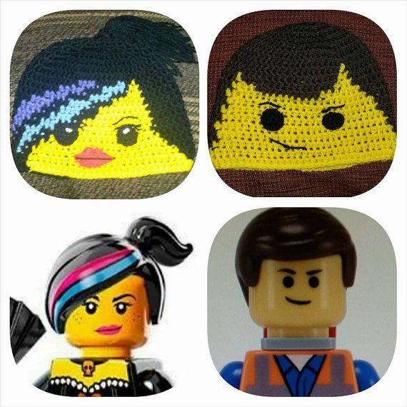 Free Crochet Pattern For Lego Hat : 17 Best ideas about Crochet Lego on Pinterest Crochet ...