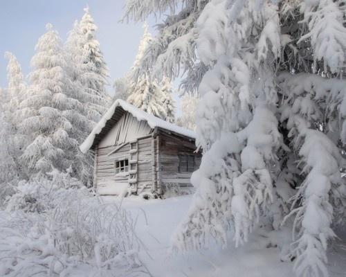 .: Winter Scene, Wood, Winter Cabins, Winter Wonderland, Snow, Christmas, Logs Cabins, Places