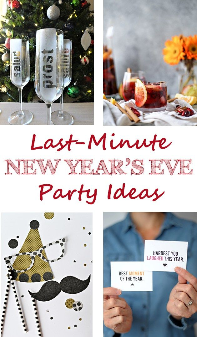 Last-Minute New Year's Eve Party Ideas | http://www.roseclearfield.com