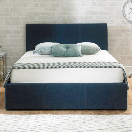 Emporia Stirling Blue King 5ft Ottoman Bed | STDB5