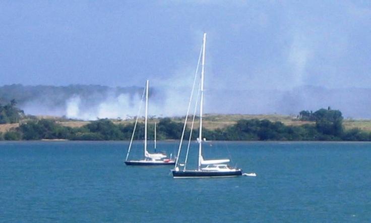 Sailboats-Lake Gatun, Panama