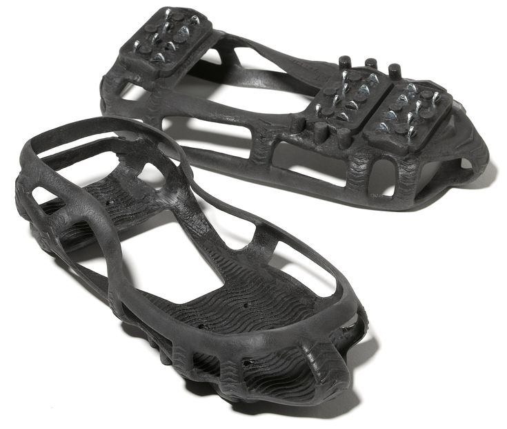 STABILicers traction devices. I had a couple of people raving to me about these last night. I've never used them, but they could be cheaper a alternative to the Kuhtoola microspikes that everyone (including me!) seems to love. Read the reviews carefully to see if this is what you need.