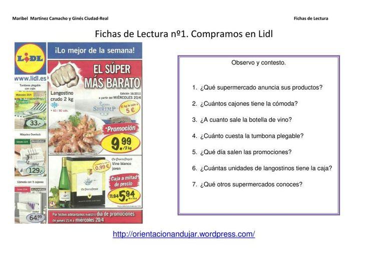Recull de fitxes d'Orientación Andujar per treballar la comprensió escrita.
