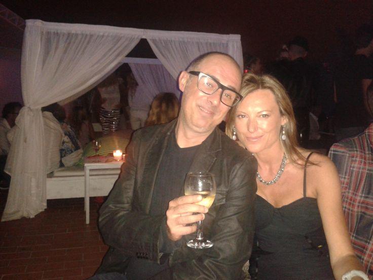 Carol Velazquez wearing Lez a Lez Ibiza in Pacha