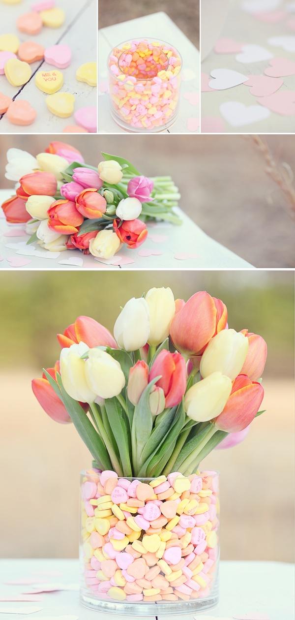 Tulip Centerpiece DIP