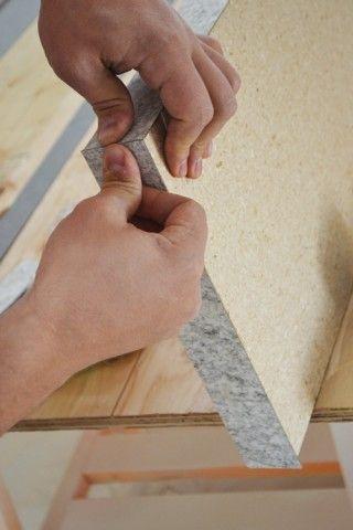 DIY-ing a Laminate Countertop