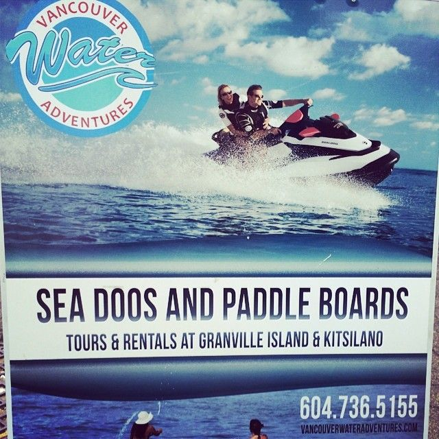 For One Who Has Ever Used A Paddle Board You Would Think The Spelling Of Sea Would Be See In Order For This Sentence Paddle Boarding Granville Island Paddle