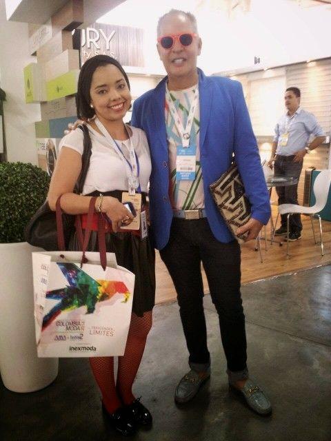 Con nuestro diseñador Colombiano Hernan Zajar
