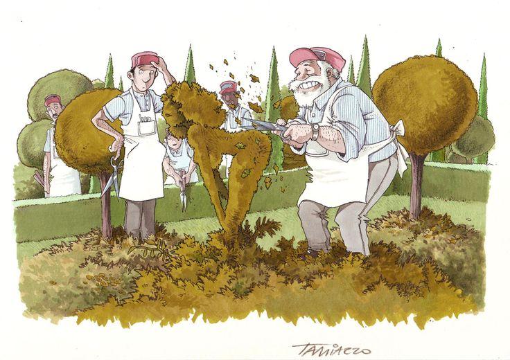 Just for laughs... #stefanotamiazzo #humor #cartoon #pantone #illustration