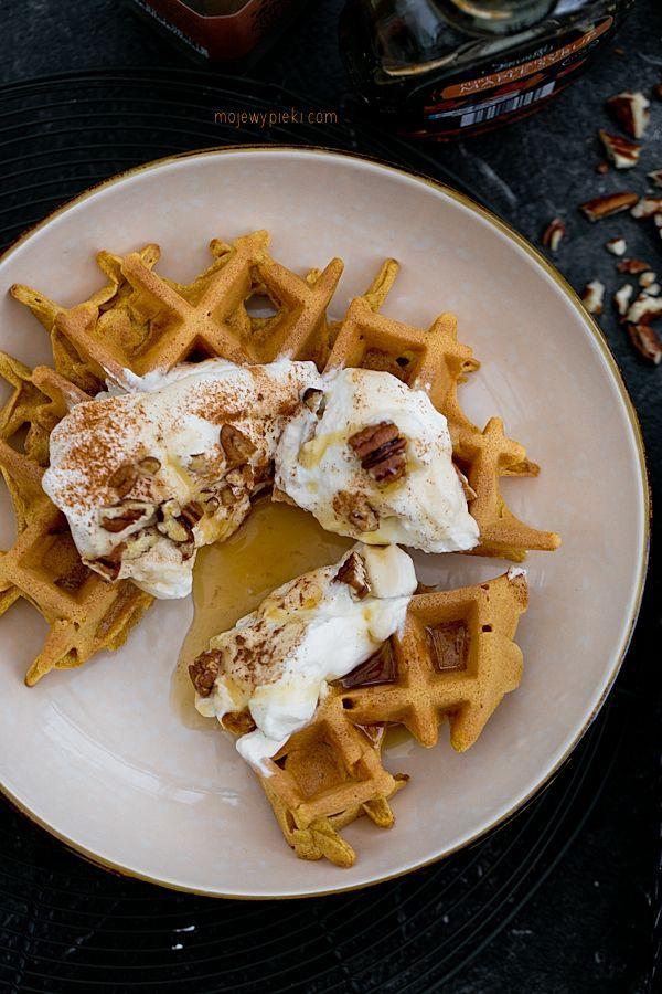 Gofry dyniowe / pumpkin waffles