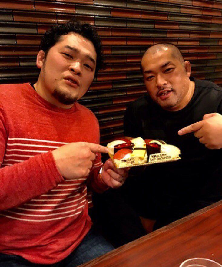 Toru Yano and Tomohiro Ishii