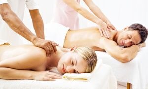 Groupon - Individual or Couples Spa Package with Massage, Collagen Mask, and Body Scrub at Massage Spa & Beyond (Up to 69% Off) in Mount Prospect. Groupon deal price: $69